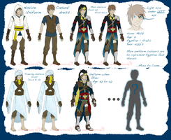 OC Malik's Outfits - 7 out of 8 by suki-red