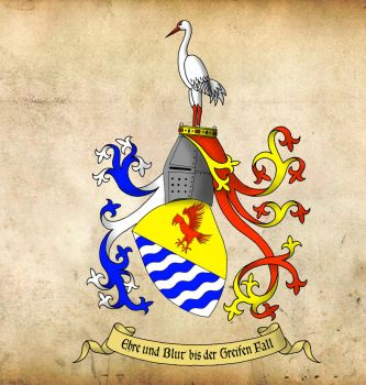 Coat of arms - Weissensee (new version) by BenGunI