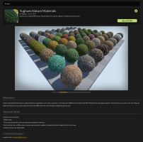 UE4 Marketplace : Nature pack by Yughues