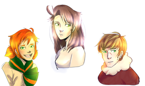 ocs by TheDoctorInTime