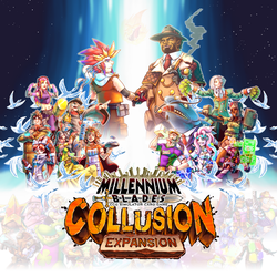 MB Collusion Cover and Logo by FontesMakua