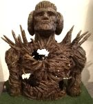 Wickerman Maquette front view by SteveDeLaMare