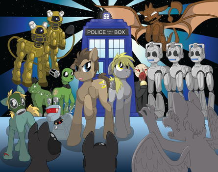 Doctor Whooves Colored by TechnoClove