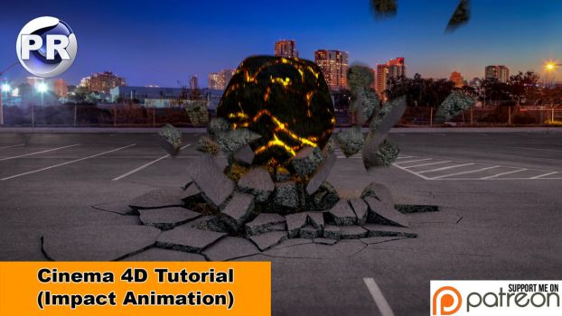 Impact Animation (Cinema 4D Tutorial) by NIKOMEDIA