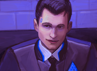 Connor Study by MissMaddyTaylor