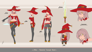(CLOSED) Adoptable Auction - Akko by Asgard-Chronicles