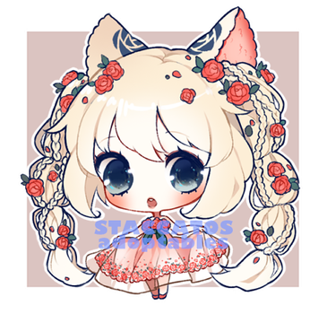 [CLOSED] Adoptable: Rose Braids Rosary by Staccatos