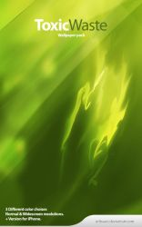 ToxicWaste - Wallpaper pack. by Uribaani
