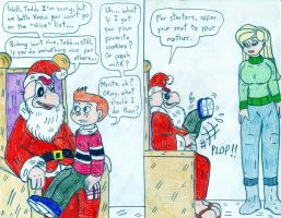 Xmas - Condor Claus and The Replacements by Jose-Ramiro