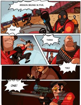 TF2: Be Efficient Be Polite 21 by spacerocketbunny