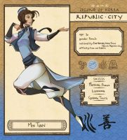 Republic City: Min Tuan by Adcacai