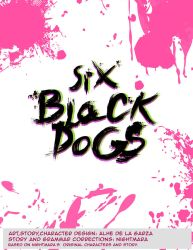 Six Black Dogs cover by Alheli-delaGarza