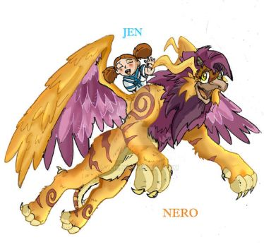 Nero: The Gryphon Chronicles by JazylH