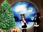 A Steampunk kind of Christmas by Ferelwing