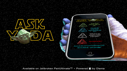 Star Wars - Ask Yoda (unofficial iPhone app) by DiggerEl7