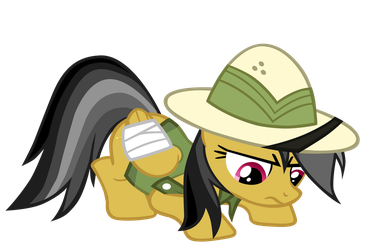 Daring Do Inspects a Trap by theaceofspadez