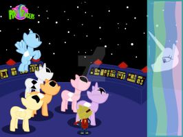 My Little Pony Rangers 'Command Center' Remastered by Trekkie2063