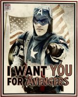 Captain America - We need you! by FioreSofen
