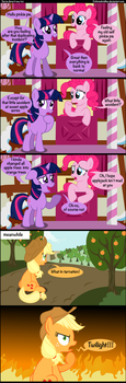 You've done it now twi. by Coltsteelstallion