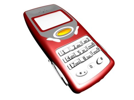 My 3D Max Mobile Phone by omle555