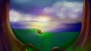 Scenic Ocean View by Gay-Skwirl
