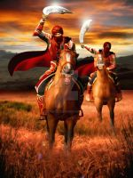 Haradrim Riders by Zoon3d