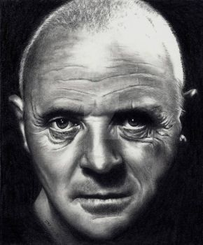 Hannibal Lecter - A. Hopkins by Doctor-Pencil