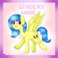 [Art Trade] With Singery Anne by Cloudy-Risicpaint