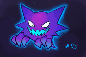 Shiny Haunter by monomite