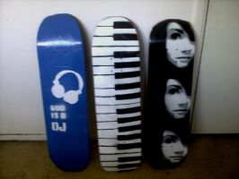 Skateboards by papermotorcycle