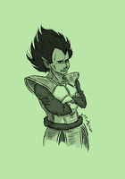 Vegeta by DarkFalcon-Z