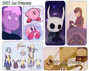 2017 Art Overview by pinkharte