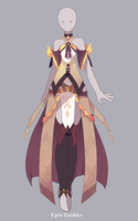 Outfit adoptable 78 (CLOSED!!) by Epic-Soldier