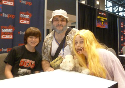 Meeting Chandler Riggs by Linksliltri4ce