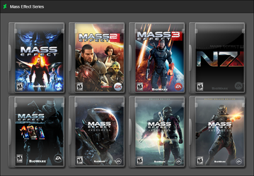 Mass Effect Series by GameBoxIcons