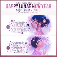 [ 16-2-18 ] :: HAPPY LUNAR NEW YEAR :: by AT-Yomiko