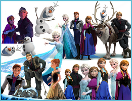 Frozen png by Cindrella-Eman