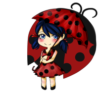 Miraculous Umbrella [Speedpaint] by AikoCelestial