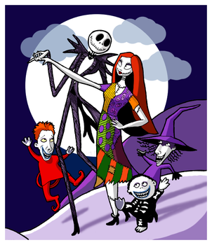 nightmare before xmas by blastedgoose