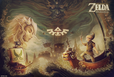 The Wind Waker by Zaphk