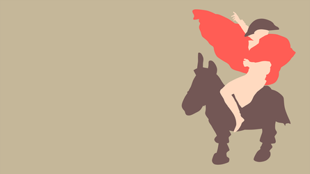 Napoleon and Donkey Crossing the Alps by Sushiman0001