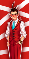 Ace Attorney - Apollo Justice by MereldenWinter