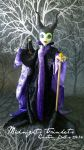 Malficent monster high custom by midnightstrinkets