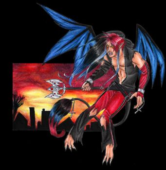 Paint the sky Red by Hori