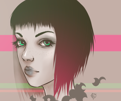 Girl by punkypeggy