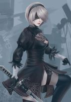 NieR - YoRHa No. 2 Type B by rikips