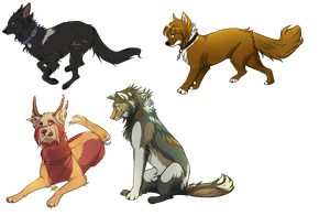 Huge Pixel chat pose Commissions by Capukat