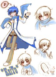 Vocaloid: Kaito by BrokenDeathAngel