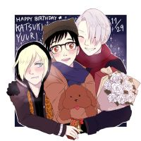 HAPPY BIRTHDAY YUURI! by hotteaistoohot