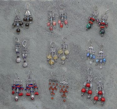 Earring Extravaganza by Ellygator